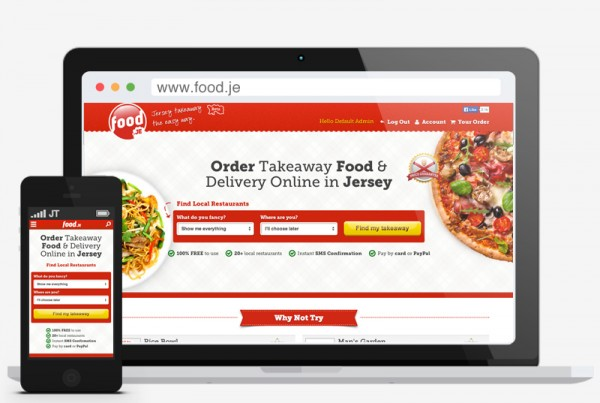 Food.je Order takeaway online in Jersey